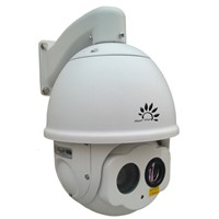 DTVC dual channel speed dome thermal camera