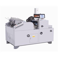 LM-300-XZH paper box forming machine used for handcraft