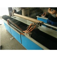PLC control paper core tube cutting machine