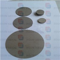 Porous sintered filter stainless steel