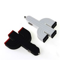 Professional Manufacturer 4.2A 5v usb car charger with 3 port