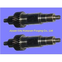 professional 35CrMo / 42CrMo Forged Steel Gear Shaft For Mining
