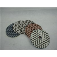 4inch/100mm diamond dry polishing pad for stone granite marble