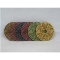 4inch/100mm diamond wet polishing pad for stone granite marble