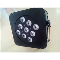 9x10w 4 in 1 flat led par can