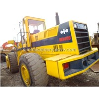 used komatsu wa400 loader original japan laoder wa400