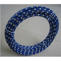Diameter 8-11.5MM Diamond Wire Saw cutting granite marblde concrete