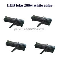 LED leko 200w white color stage light