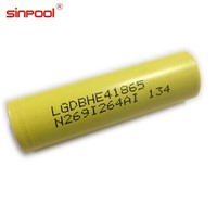 LG HE4 High Quality Original Import Cell 2500mah 18650 Li-ion Battery