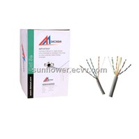 Lan Cable ( CAT5E UTP Cable ) BC DC CCA 305m Per Roll