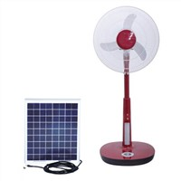 Rechargeable Stand Fan with Solar Panel