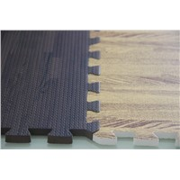 Soft Wood EVA foam floor / interlocking floor tiles