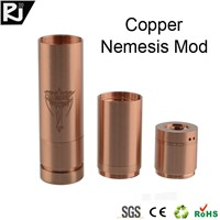2014 hot selling stainless and  red copper nemesis mod clone