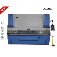 hydraulic aluminum metal bending machine , manual sheet metal bending machine 100T/2500