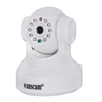 2013 new product JW0012 PT P2P alarm system IR 10m wireless network camera