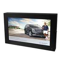 42 inch gas and petrol station waterproof 1500 nits screen advertising lcd outdoor monitor