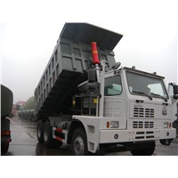 SINOTRUCK HOWO 70TON 371HP EuroII  MINING DUMP TRUCK Container Thickness bottom 8mm Side 6mm