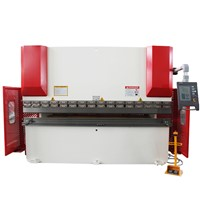 CNC hydraulic press brake, CNC press brake,sheet metal bending machine,press brake WC67K-125T3200