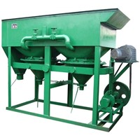 Saw tooth wave gold ore jig concentration machine