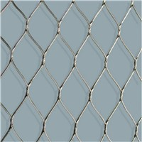 handwoven wire mesh fence