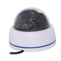 Wireless dome ip camera p2p night vision indoor