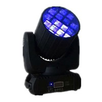 HOT 12 pcs rgbw 4 in 1 cree leds beam moving head music activated led disco lights