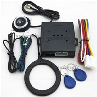 Car immobilizer with push start car system,car alarm system,push engine off,auto alarm system