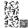 HM400,tattoo lettering/arm,waist,back,chest,body/Differnt shape for F/waterproof,transfer tatoo