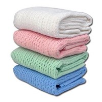 100% Cotton Baby Thermal Blankets
