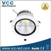 95mm cutout 7W COB Led downlight