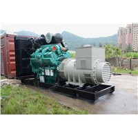 Cummins Diesel Generator with Stainless Soundproof Canopy Stamford Alternator Three phase