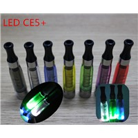 2014 Best seller no leaking large clearomizer electronic cigarette ego LED CE5+