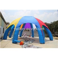 Giant Inflatable Structure Spider Dome Tent
