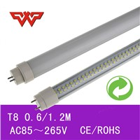 18W T8 LED TUBE Lighting 1200mm 4ft 100lm/W High Efficiency