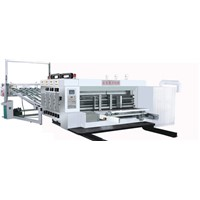 PL-Y3 Automatic Flexo Print Slot Die Cut machine with stacker