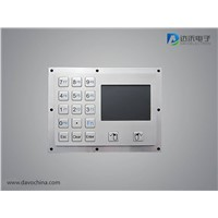 Stainless Steel Touchpad with Keys D-8405
