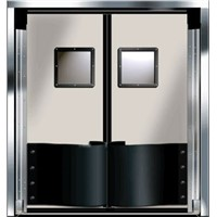 Stainless steel free door
