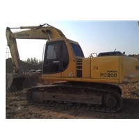 used Komatsu PC200-6 crawler excavator,original Japan