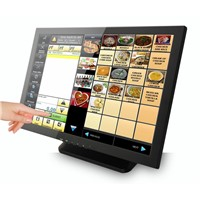 21.5 Inch Touch Screen Monitor with VGA DVI USB