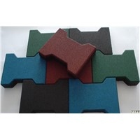 Dog-bone Rubber Floor Tile