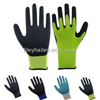 13gauge nitrile sandy gloves
