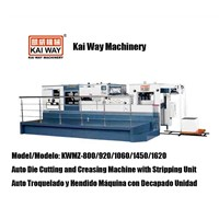 Auto Die Cutting and Creasing Machine with Stripping Unit