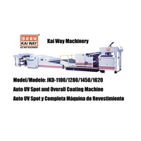 Auto UV Spot and Overall Coating Machine