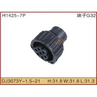 7 pin female automotive connector