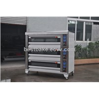 3 Layers 9 Trays Microcomputer Bakery Gas Heavy Duty Oven/Italian Bakery/Deck Oven BY-9B