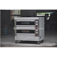 New style Luxury electric baking oven 2 deck 4 trays BY-4D