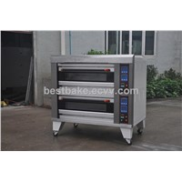 2 layer 4 trays gas bread baking ovens BY-4B
