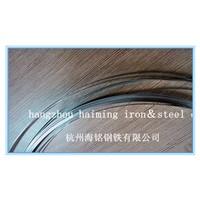 stainless steel strip with rounded or deburred smooth edge