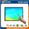 17 inch open frame LCD monitor with touch screen