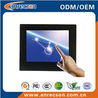 10 inch industrial embedded mount touch LCD monitor
